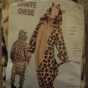 Giraffe Onesie Costume Pajamas